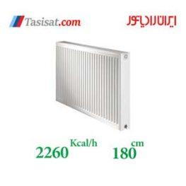 مشخصات رادیاتور پنلی ایران رادیاتور