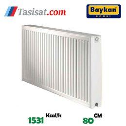 مشخصات رادیاتور پنلی بایکان 80 سانت