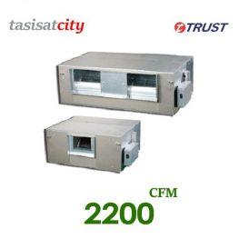 فن کوئل داکتی با فشار استاتیک بالا تراست CFM 2200