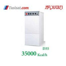 پکیج زمینی ایران رادیاتور 35000 مدل D35