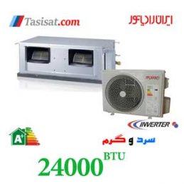 داکت اسپلیت اینورتر ایران رادیاتور 24000