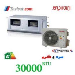 داکت اسپلیت اینورتر ایران رادیاتور 30000