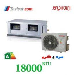 داکت اسپلیت ایران رادیاتور 18000 گرید A