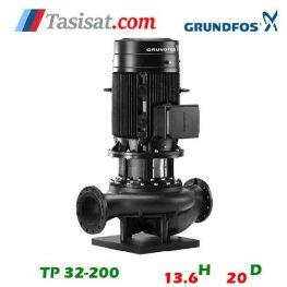 فروش پمپ گراندفوس مدل TP 32-200