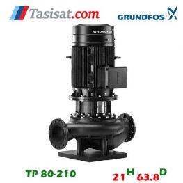 فروش پمپ گراندفوس مدل TP 80-210