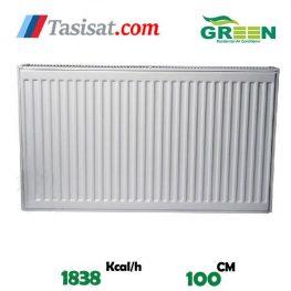 قیمت رادیاتور پنلی گرین 100 سانت