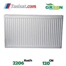 مشخصات رادیاتور پنلی گرین 120 سانت