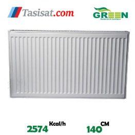قیمت رادیاتور پنلی گرین 140 سانت