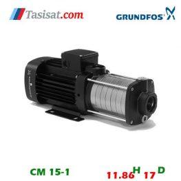 قیمت پمپ گراندفوس مدل CM 15-1