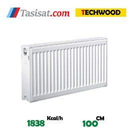 فروش رادیاتور پنلی تک وود 100 سانت
