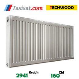 مشخصات رادیاتور پنلی تک وود 160 سانت