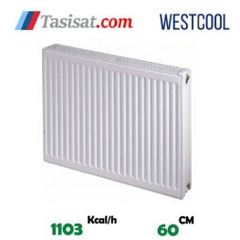قیمت رادیاتور پنلی وست کول 60 سانت
