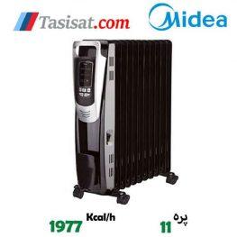 فروش رادیاتور برقی 11 پره مدیا مدل NY2311-14A2