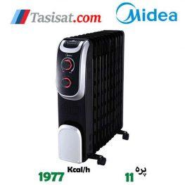 مشخصات رادیاتور برقی 11 پره مدیا مدل NY2311-13AL