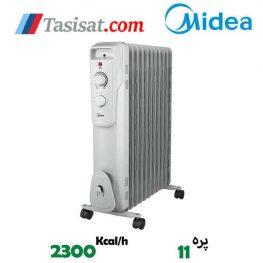 خرید رادیاتور برقی 11 پره مدیا مدل NY2311-16JA