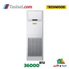 کولر گازی تکوود ایستاده 36000 مدل TECH-SPLIT-FLOOR-36