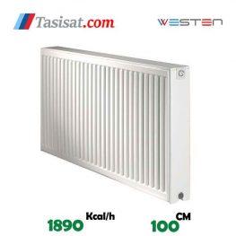 قیمت رادیاتور پنلی وستن ایر 100 سانت