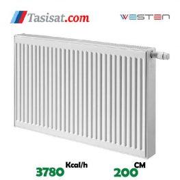 خرید رادیاتور پنلی وستن ایر 200 سانت