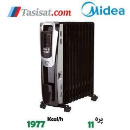 رادیاتور برقی 11 پره مدیا مدل NY2311-14A2