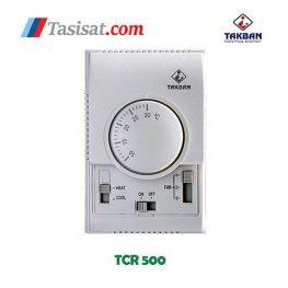 مشخصات ترموستات اتاقی تکبان مدل TCR 500