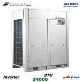 مینی مالتی اسپلیت آکس AUKS اینورتر ظرفیت 34000 BTU مدل AARV-H100/4R1A
