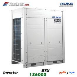 مالتی اسپلیت آکس AUKS اینورتر ظرفیت 136000 BTU مدل AARV-H400/5R1MA-P