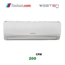 فن کویل دیواری وستن ایر 200 CFM مدل WDF-200 P1