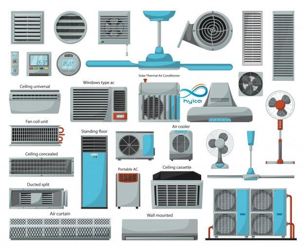 سیستم سرمایی ساختمان