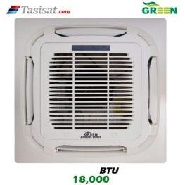 یونیت داخلی کاستی چهار طرفه گرین GRV ظرفیت 18000 مدل I4WGRV18P1
