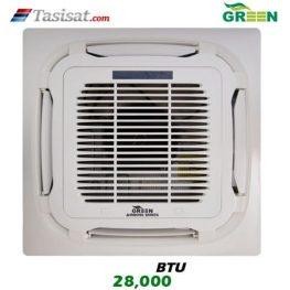 یونیت داخلی کاستی چهار طرفه گرین GRV ظرفیت 28000 مدل I4WGRV28P1