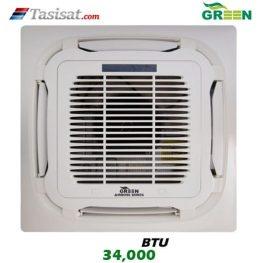 یونیت داخلی کاستی چهار طرفه گرین GRV ظرفیت 34000 مدل I4WGRV34P1