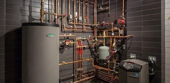 سیستم های گرمایشی ساختمانی