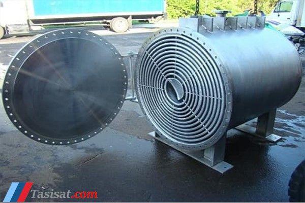مبدل حرارتی صفحه ای حلزونی