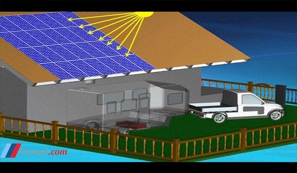 عملکرد آبگرم کن خورشیدی
