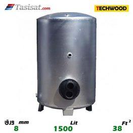 منبع کویل دار ایستاده 1500 لیتری تکوود TECHWOOD ورق 8