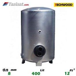 منبع کویل دار ایستاده 400 لیتری تکوود TECHWOOD ورق 8