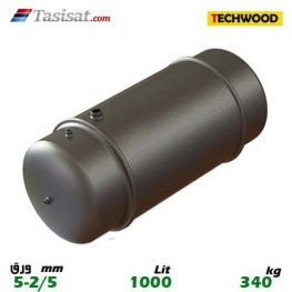 منبع دوجداره 1000 لیتری تکوود TECHWOOD ورق 2/5-5
