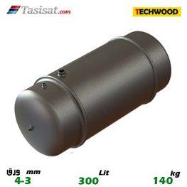 منبع دو جداره تکوود 300 لیتری 3-4 mm