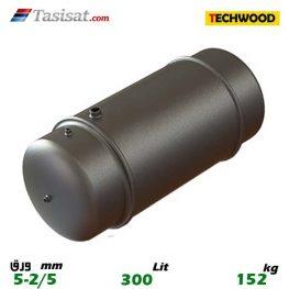 منبع دو جداره تکوود 300 لیتری 2/5-5 mm