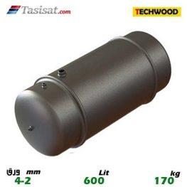 منبع دوجداره 600 لیتری تکوود TECHWOOD ورق 2-4