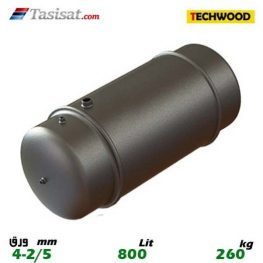 منبع دوجداره 800 لیتری تکوود TECHWOOD ورق 2/5-4