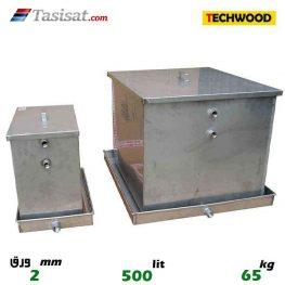 منبع انبساط باز 500 لیتری تکوود TECHWOOD ورق 2