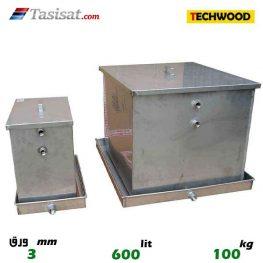 منبع انبساط باز 600 لیتری تکوود TECHWOOD ورق 3