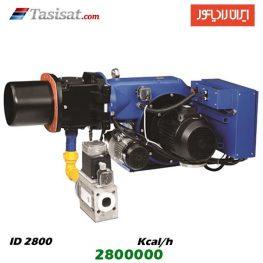 مشعل دوگانه سوز ایران رادیاتور 2800000 kcal/h مدل ID 2800