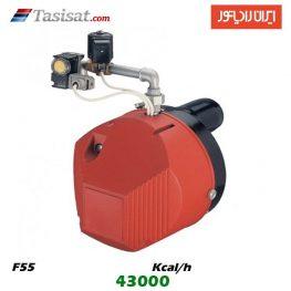 مشعل گاز سوز ایران رادیاتور 43000 kcal/h مدل F55
