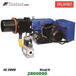 مشعل گاز سوز ایران رادیاتور 2800000 kcal/h مدل IG2800