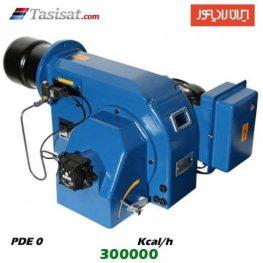 مشعل گازوئیل سوز ایران رادیاتور 300000 kcal/h مدل PDE 0