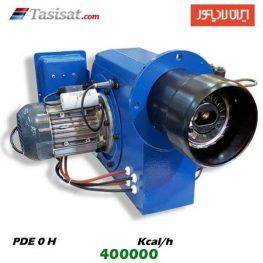 مشعل گازوئیل سوز ایران رادیاتور 400000 kcal/h مدل PDE 0 H