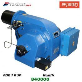 مشعل گازوئیل سوز ایران رادیاتور 840000 kcal/h مدل PDE 1 B SP