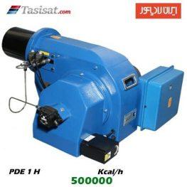 مشعل گازوئیل سوز ایران رادیاتور 500000 kcal/h مدل PDE 1 H